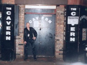 Chris outside Cavern